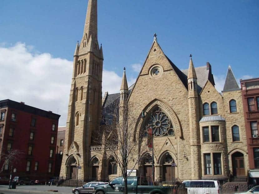 Iglesia Baptista en Harlem