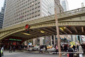 Puente de Grand Central, en Navidad