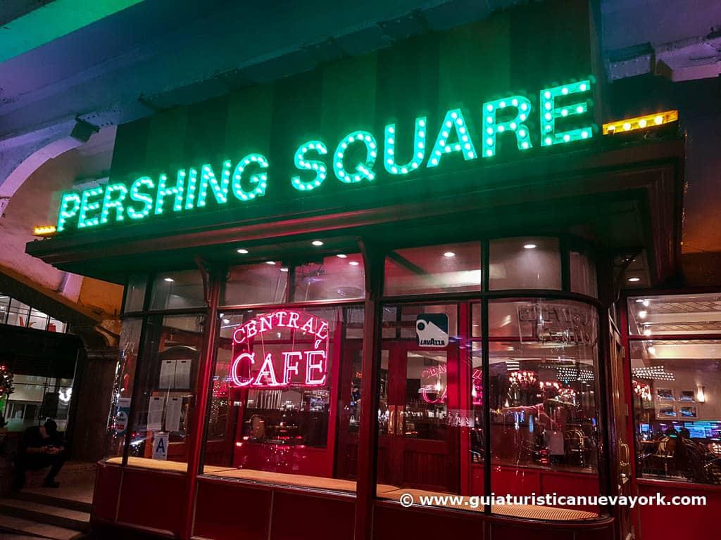 Entrada a Pershing Square
