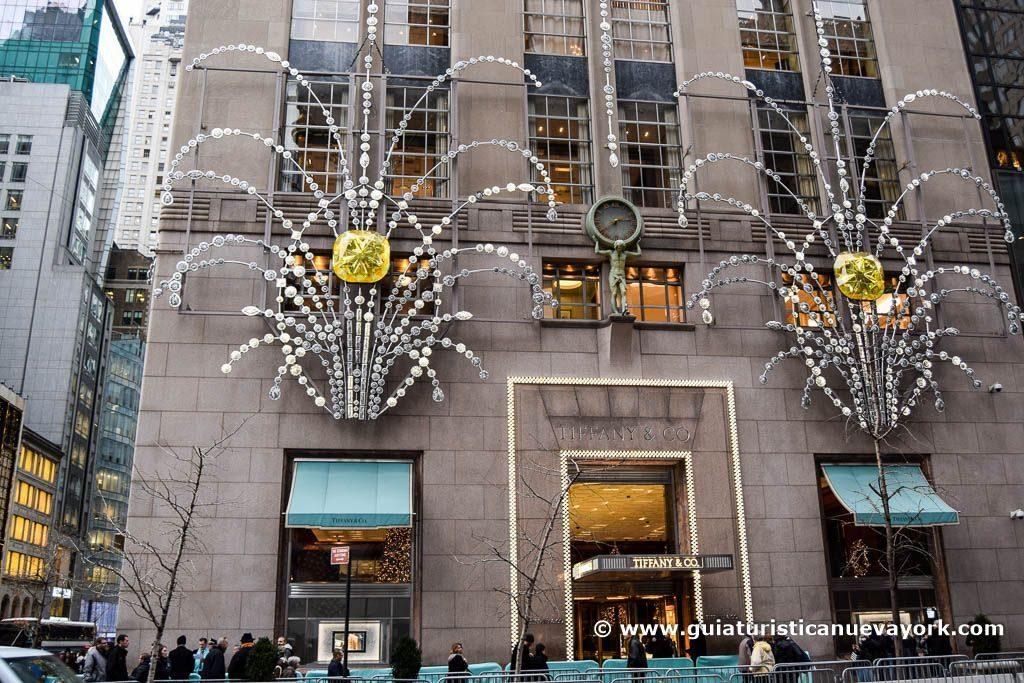 Tiffany's en Navidad