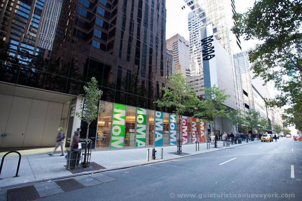 Entrada al MoMA - Museo de Arte Moderno de Nueva York