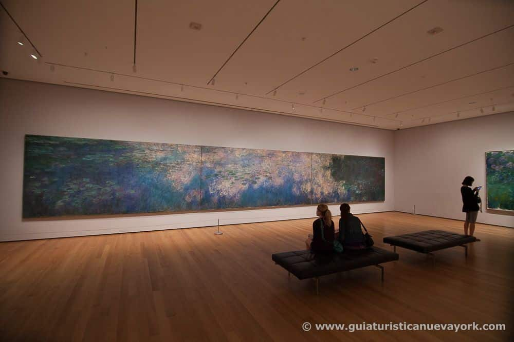 Los nenúfares, de Monet, en el MoMA