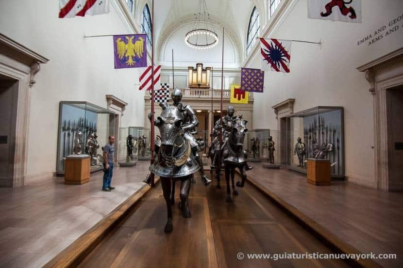 Armas y armaduras en el Metropolitan Museum