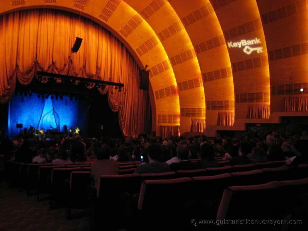 Interior del Radio City Music Hall