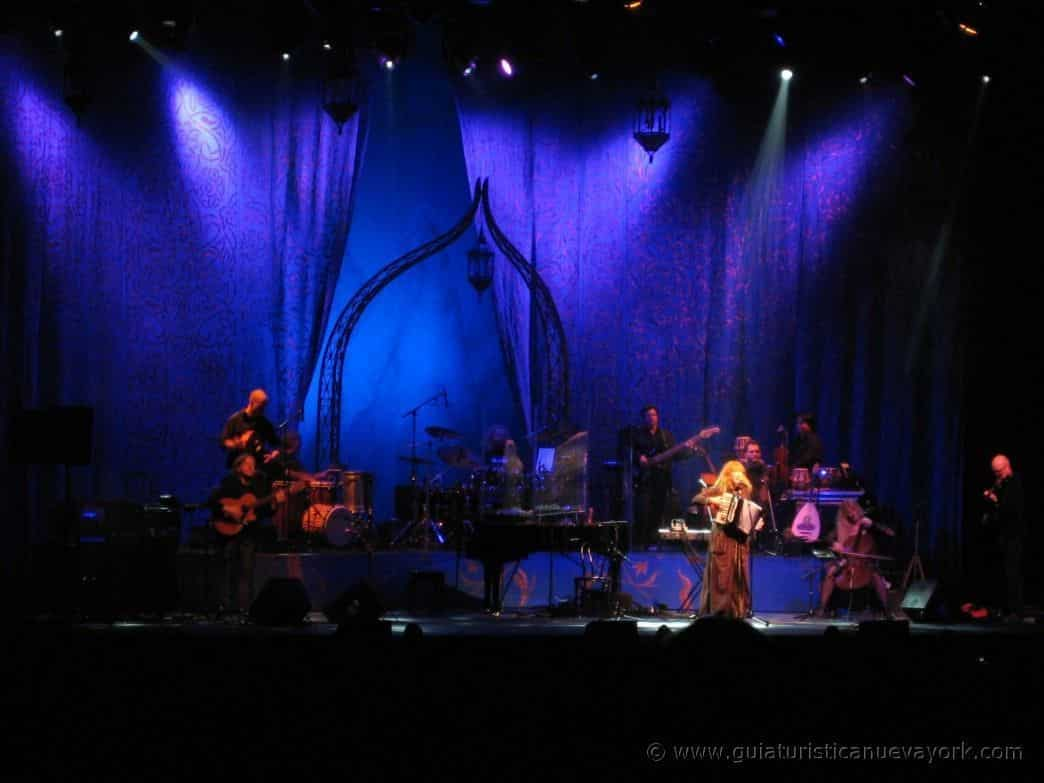 Loreena McKennitt en el Radio City Music Hall