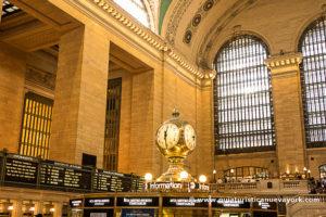 El famoso reloj de Grand Central Terminal