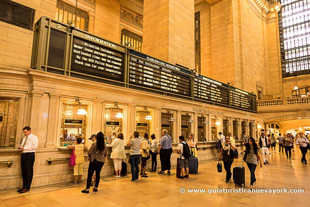 Taquillas de Grand Central
