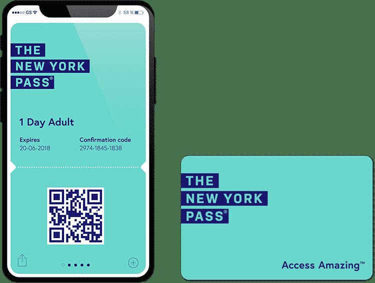 New York Pass puedes tenerla en tu móvil o en una tarjeta física