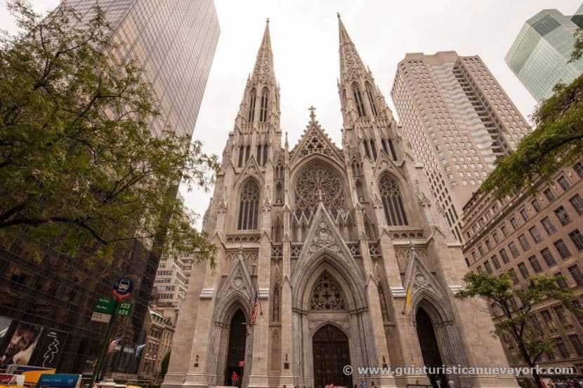 Catedral de St. Patrick, por donde pasa el desfile