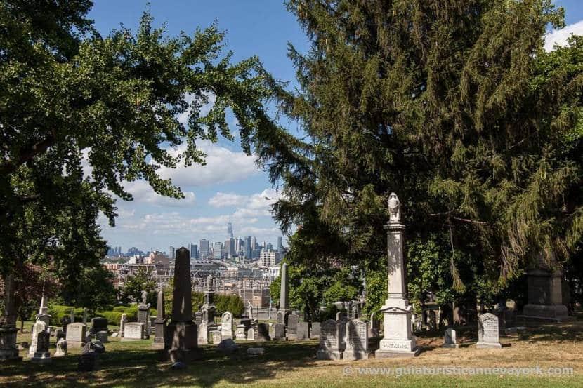 Nueva York desde el cementerio de Green-wood