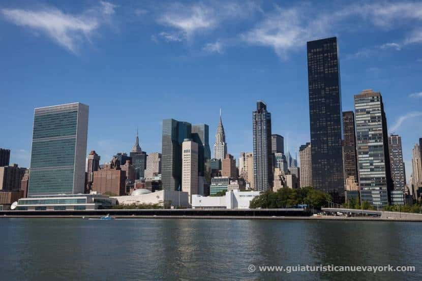 Vistas desde Four Freedoms Park