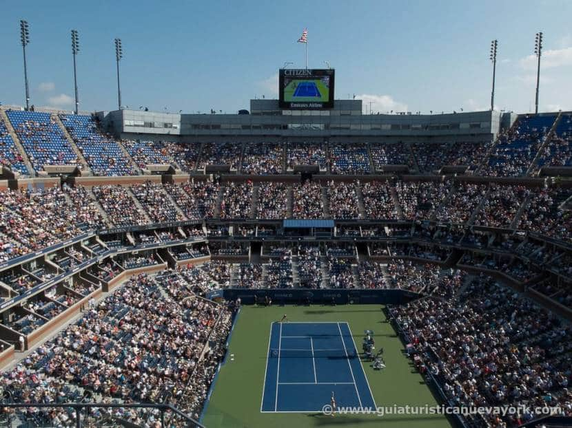 Pista central del Us Open (Arthur Ashe)