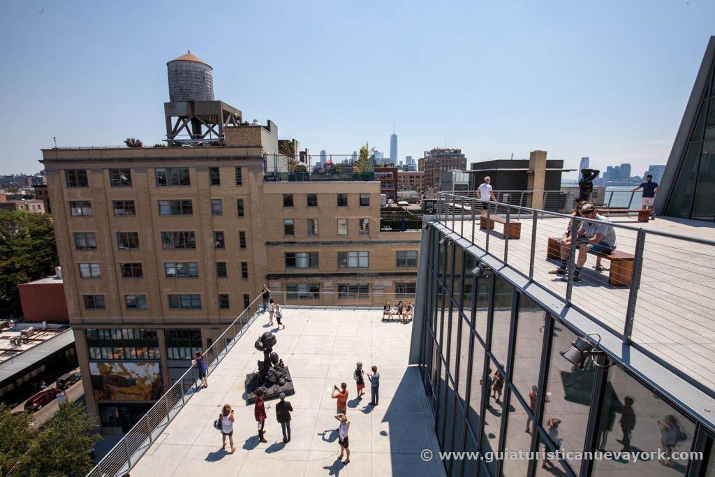 Vistas desde las terrazas del Museo Whitney