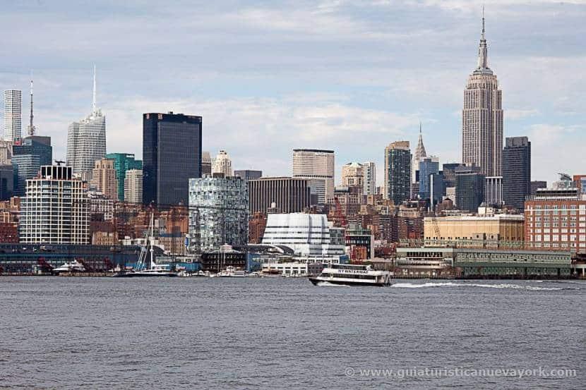 Hoboken, uno de los mejores miradores gratuitos de Nueva York