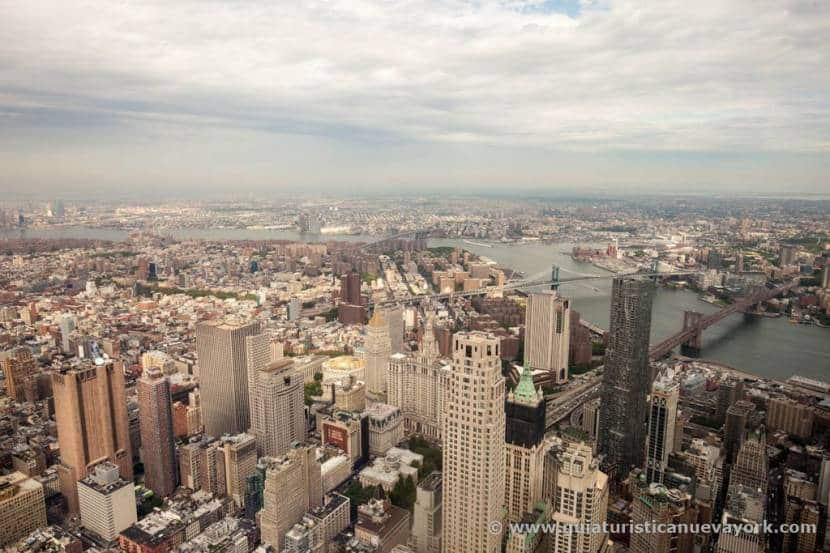 Nueva York desde el observatorio