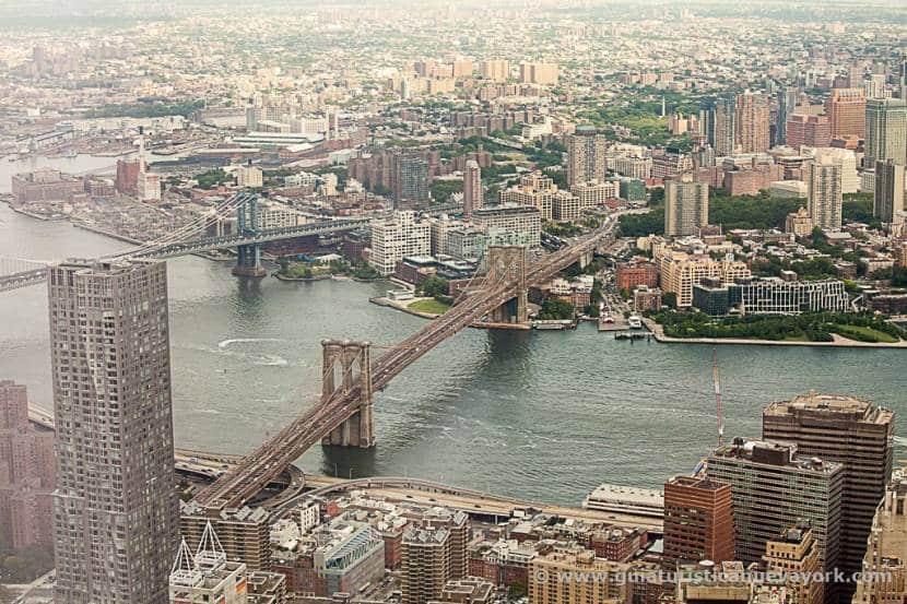 Brooklyn desde el One World Observatory