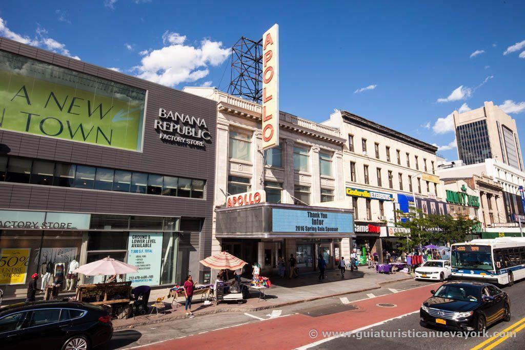 El mítico teatro Apollo de Harlem