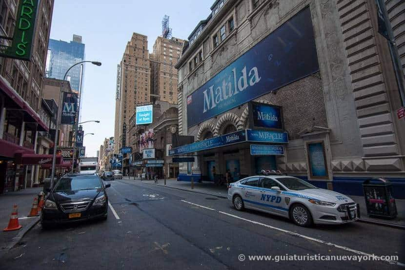 Shubert Theatre, en Broadway
