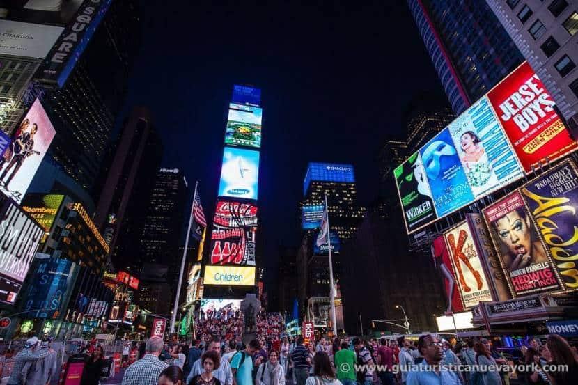 Carteles de los musicales de Broadway