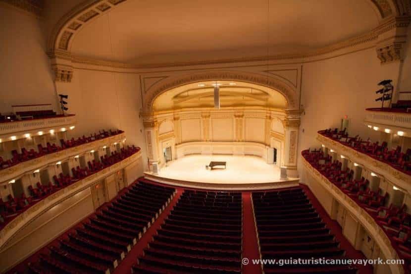 Vista del Auditorio Isaac Stern