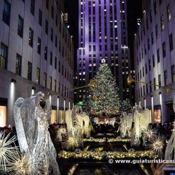 Encendido de los árboles de Navidad de Nueva York