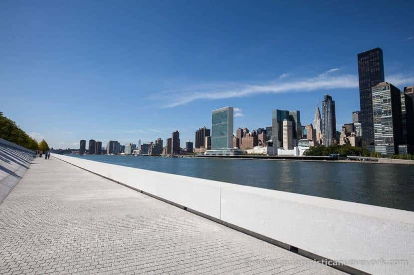 Manhattan desde Four Freedoms Park, en Roosevelt Island