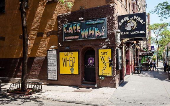 El mítico Café Wha?, en el Village