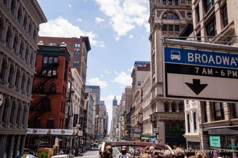 Como saber que he llegado a Nueva York