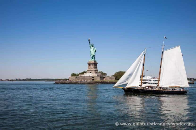 Estatua de la Libertad desde el Water Taxi
