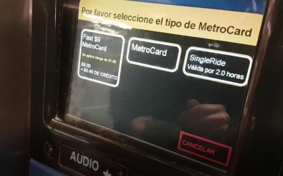 Obtener una Metrocard de Nueva York paso a paso