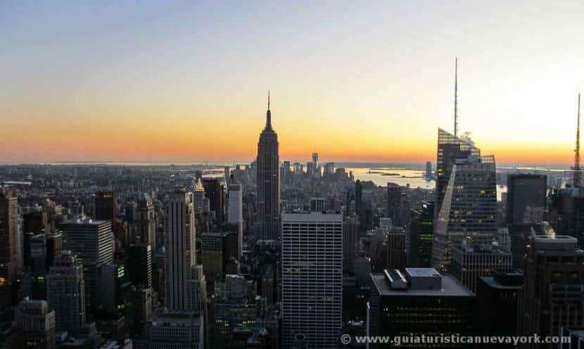 Nueva York desde el Top of the Rock