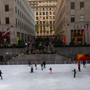 Pistas de patinaje sobre hielo en Nueva York 2020-2021