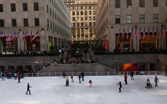 Pistas de patinaje sobre hielo en Nueva York 2019-2020