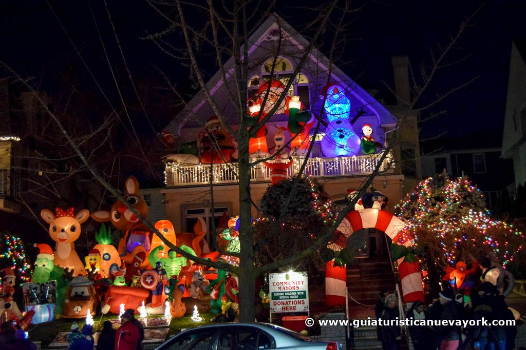 Luces Navideñas de Dyker Heights
