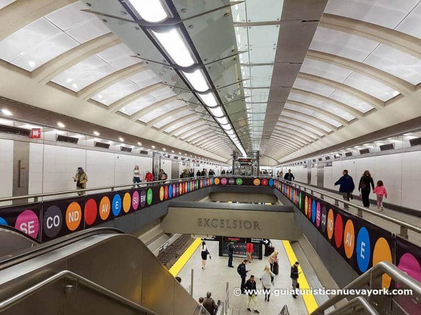 Las nuevas estaciones del metro