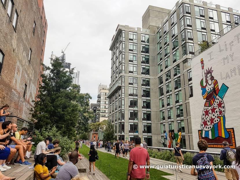 Vista de la High Line