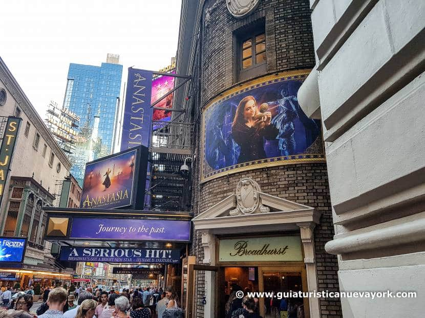 Un gran plan: ir a ver un musical a Broadway