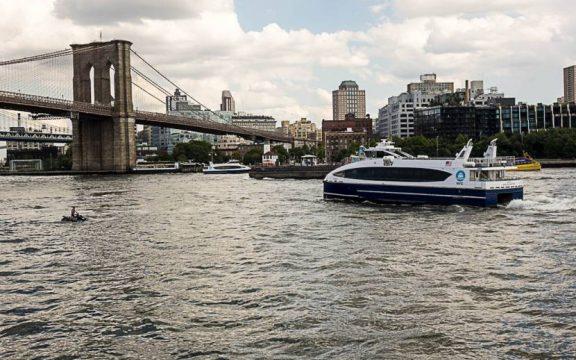 Un paseo en el NYC Ferry