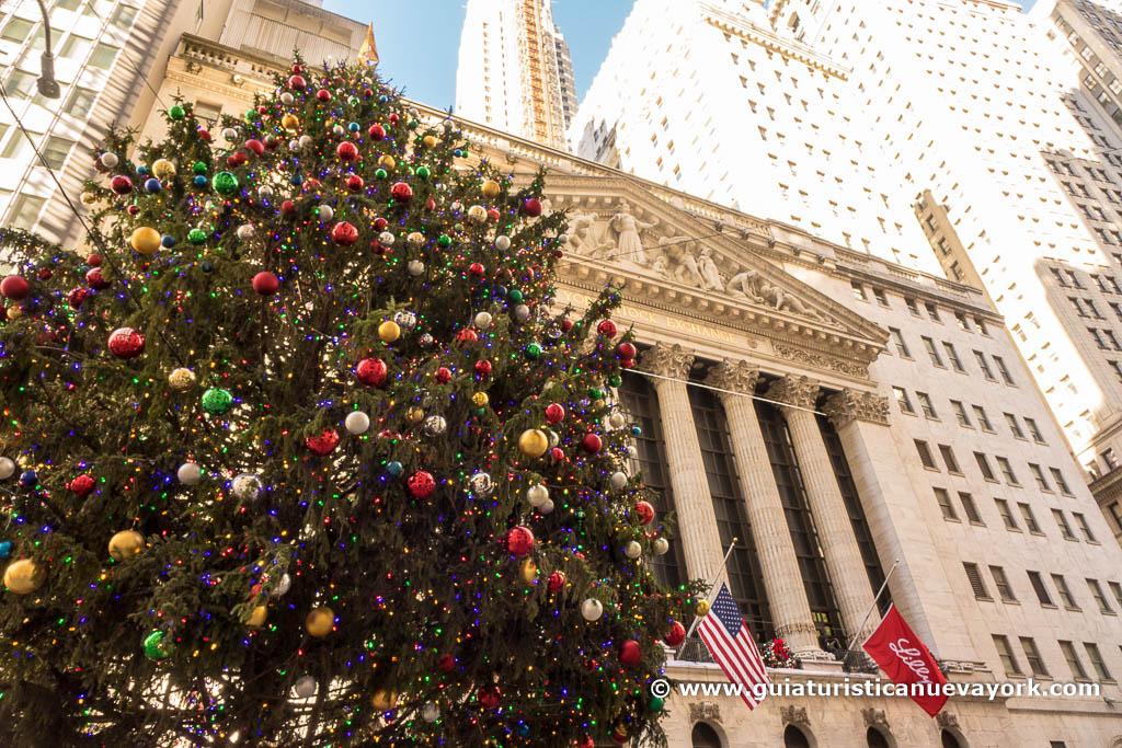 Árbol de Navidad de Wall Street