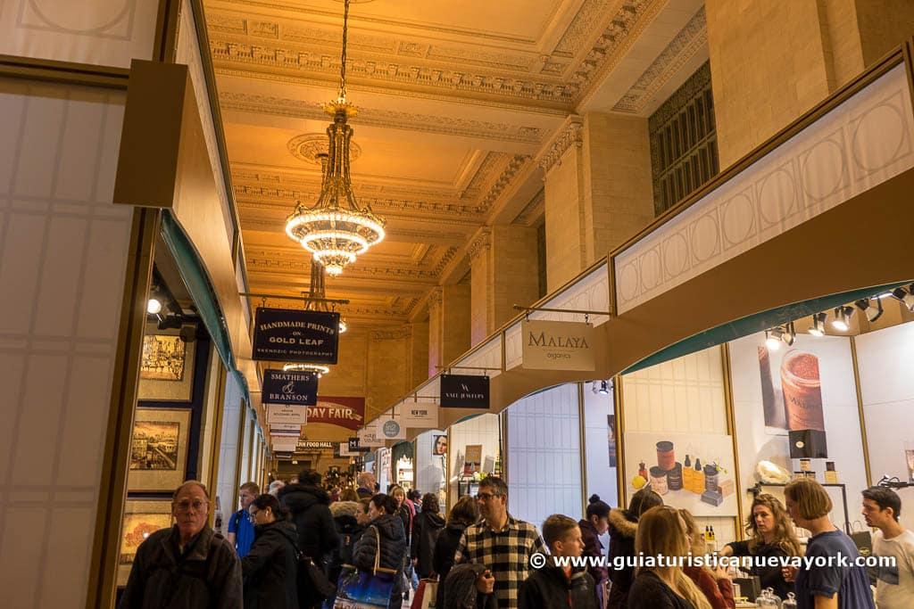 Mercadillo de Grand Central Terminal