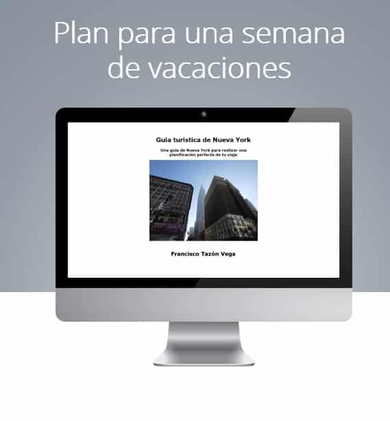 Guía: Plan para una semana de vacaciones