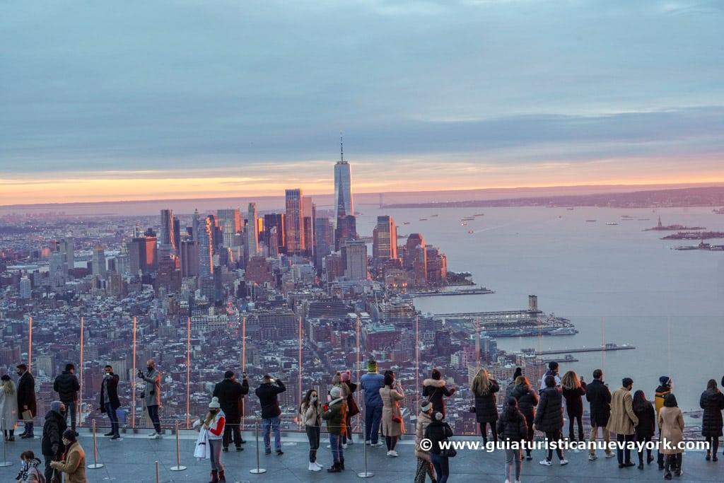 Vista sur de The Edge New York