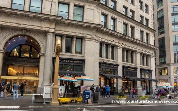Entrada a Eataly NYC Flatiron