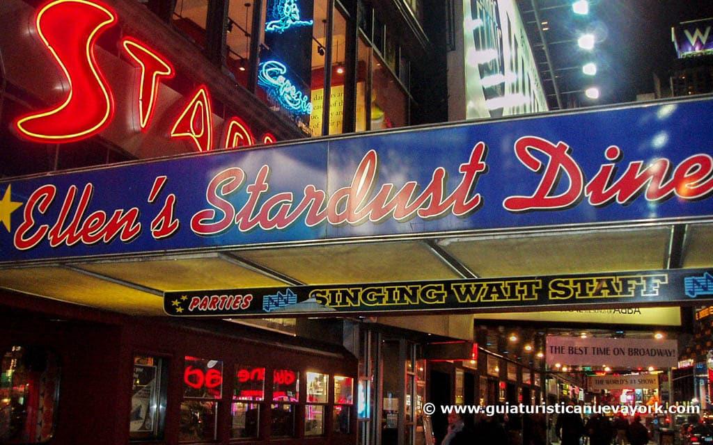 Exterior de Ellen's Stardust Diner