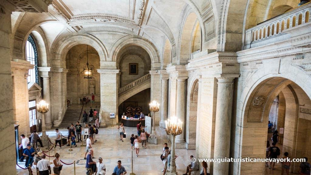 Interior de la New York Public Library