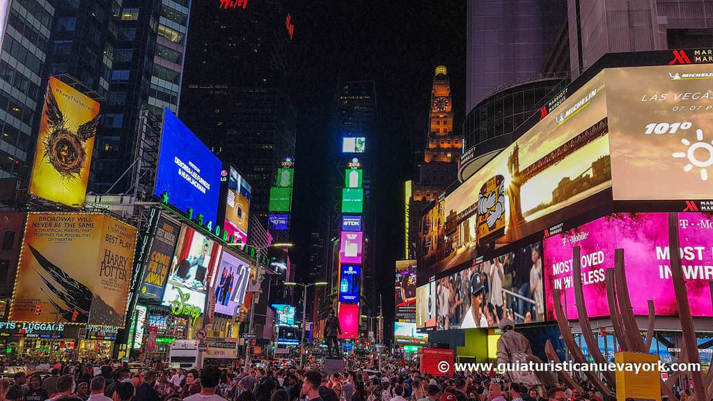 Times Square, de noche