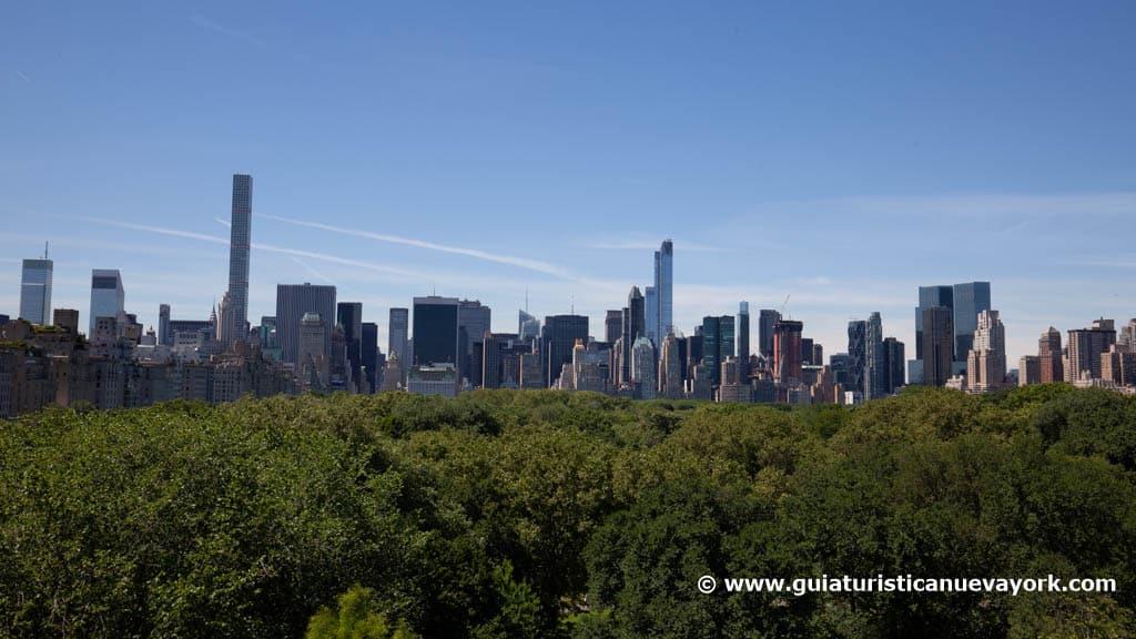 Vistas desde la terraza del Met