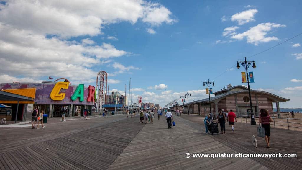 Paseo marítimo de Coney Island
