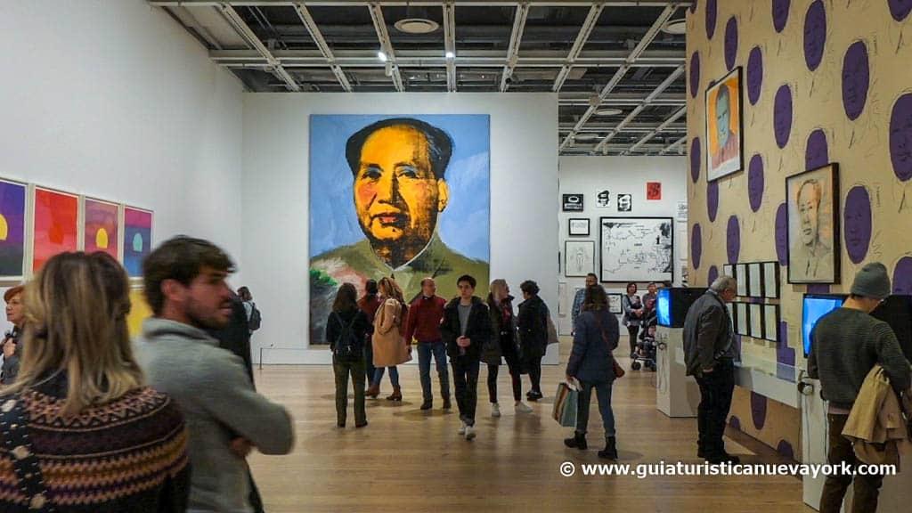 Antológica de Warhol en el museo Whitney