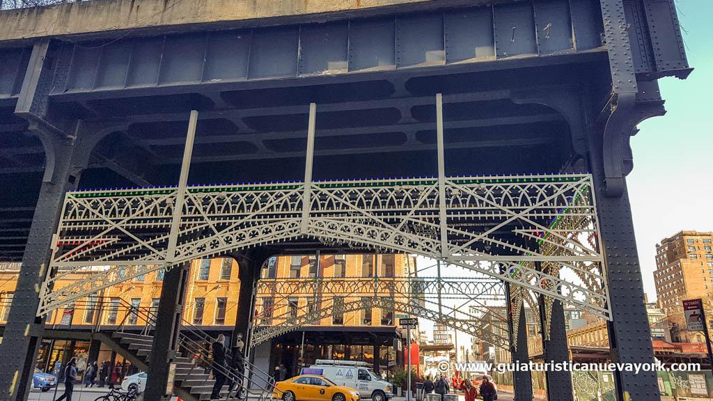 Inicio de la High Line